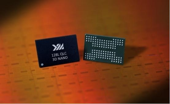 -layer QLC 3D flash memory