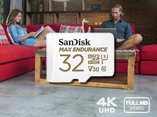 microSD kortelė SanDisk Max Endurance 32GB