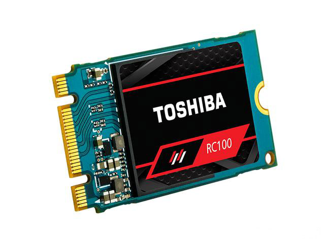 Toshiba's single-chip SSD