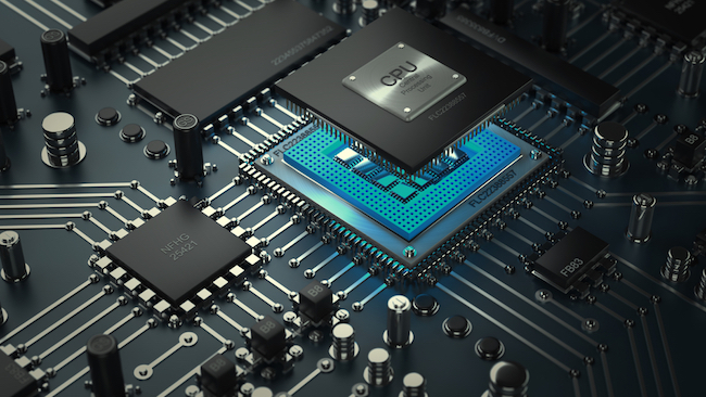 modern CPUs has been etched together with the processor