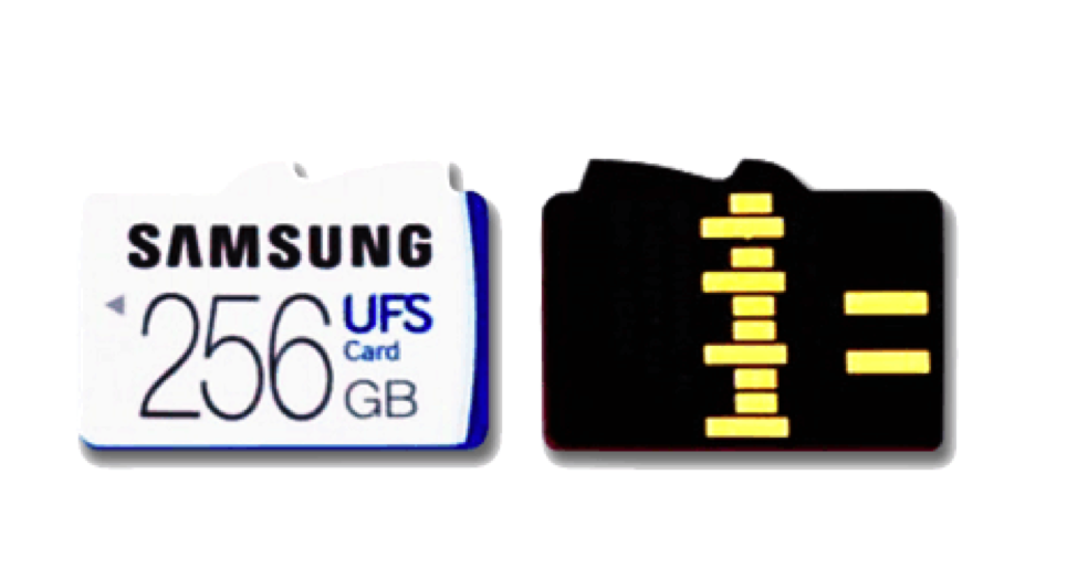 difference between UFS and Micro SD Card