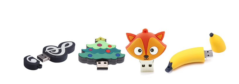 Cute cartoon USB flash drives