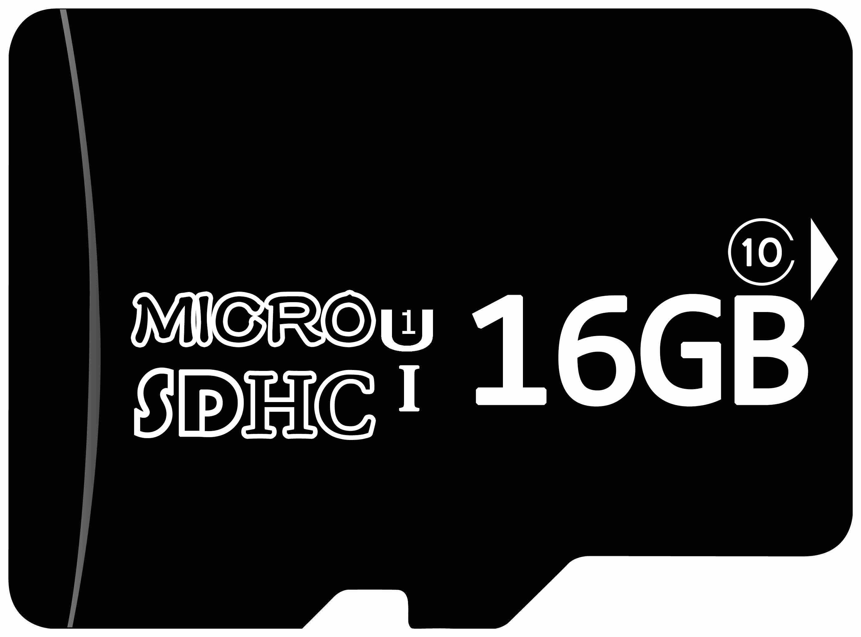 Micro SD ranges from 2gb to 512GB